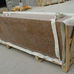 Maple Red Granite Countertop