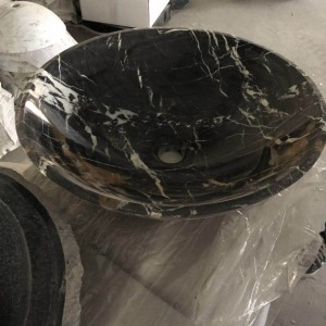 Black Marquina basin